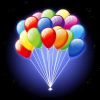 Купить светящиеся шары и воздушные шарики с гелием
