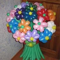 Букет из воздушных шаров: оригинальный и красивый подарок