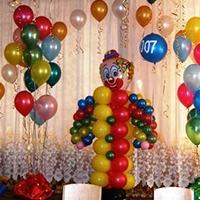 Оформление детских праздников шарами и шариками