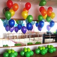 Фонтаны из шаров - украшение для праздника