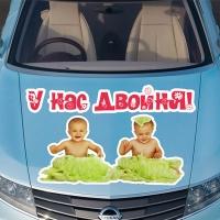 Наклейки на авто близняшки и двойняшки на заказ