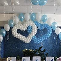 Воздушные шары на свадьбу: купить в Москве недорого