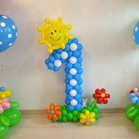 Купить цифры из шаров и воздушных шариков