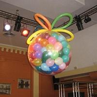 Воздушный шар-сюрприз на праздник с доставкой по Москве