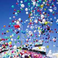 Лучший способ украсить праздник- запуск воздушных шаров в небо
