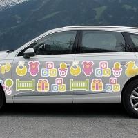 """Купить декоративную наклейку на капот автомобиля """"Картинки"""" в интернет-магазине Спасибо-за-ребенка. Ру"""