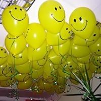 Воздушные шарики смайлики