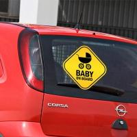 Наклейка - Baby on board